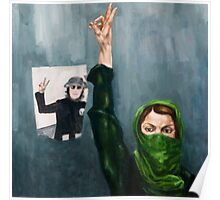 Iran Revolutionary Poster