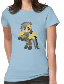 My Little Military Pony Womens Fitted T-Shirt