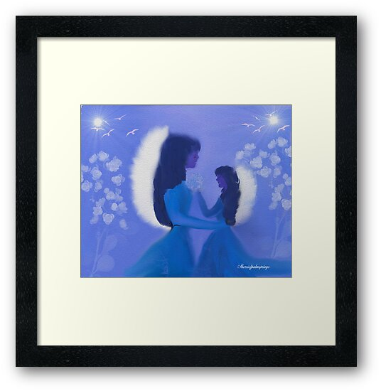 MOM AND DAUGHTER MIDNIGHT ANGELS by Sherri     Nicholas