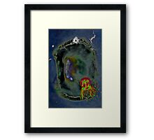 Jellyfish fields forever Framed Print