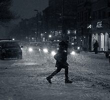 One Snowy NIght in Montreal by Valerie Rosen