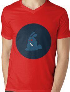 Psycho bunny Mens V-Neck T-Shirt