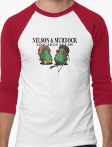 Best Damn Avocados in New York Men's Baseball ¾ T-Shirt