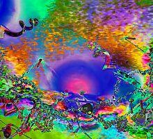 Cieling dream #4376 by TIMOTHY  POLICH