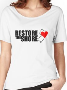Restore the shore Women's Relaxed Fit T-Shirt