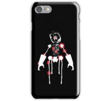 Ink Blot Ro-Bot (White recolor) iPhone Case/Skin