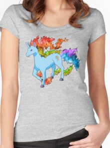 Rainidash Women's Fitted Scoop T-Shirt