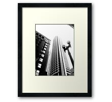 Seattle Stroll Framed Print