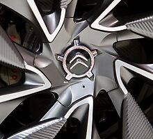 Citroën Survolt Detail Wheel [ Print & iPad / iPod / iPhone Case ] by Mauricio Santana