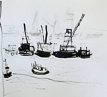 Busy Harbour by ROSEMARY EAGLE
