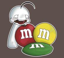 Sup Guy with sweet sweet M&Ms by PokeNarMew