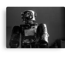 Happy Robot Canvas Print