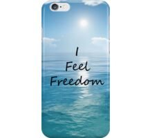 I Feel Freedom Necki Minaj iPhone Case/Skin