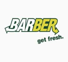 "Barber Get Fresh  ""Subway"" T-Shirt"