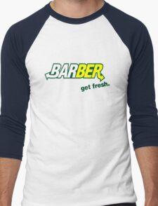 "Barber Get Fresh  ""Subway"" Men's Baseball ¾ T-Shirt"
