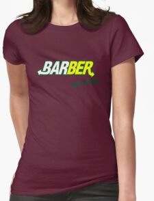 """Barber Get Fresh  """"Subway"""" Womens Fitted T-Shirt"""