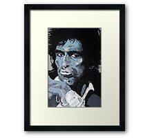 Blue Keef Framed Print