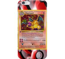 Base Charizard Pokemon iPhone Case iPhone Case/Skin