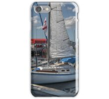 At the Mooring  iPhone Case/Skin