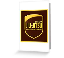 Jiu-Jitsu Greeting Card