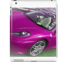 Sports - Purple Ferrari iPad Case/Skin