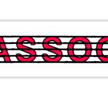 Bassoon Red Sticker