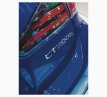 Lexus CT 200h Back Blue [ Print & iPad / iPod / iPhone Case ] One Piece - Long Sleeve