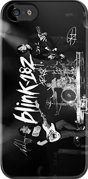 blink-182 iPhone/iPod Touch/Samsung Case by allthingsblink