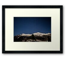 A beautifull night sky Framed Print