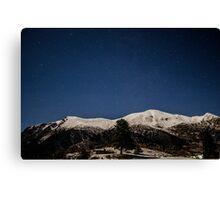 A beautifull night sky Canvas Print