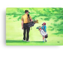 Great Golf Day Canvas Print