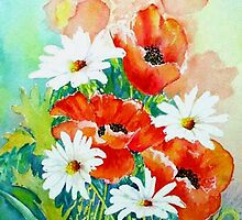 Poppies and Daisies by Croftsie