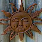 Rustic Sun Face by Lisa Gilliam Photography