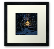 Cozy Retreat Framed Print