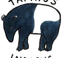 Malayan Tapir (Tapirus indicus) by alogism