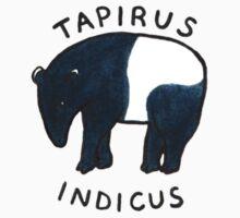 Malayan Tapir (Tapirus indicus) Baby Tee