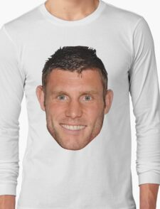 James Milner's Massive Head Long Sleeve T-Shirt