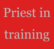 Priest in Training Baby Tee