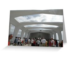 USS Arizona Greeting Card