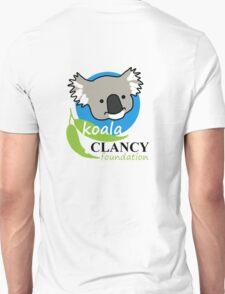 Koala Clancy Foundation - large logo T-Shirt
