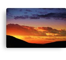 Beautiful endings Canvas Print