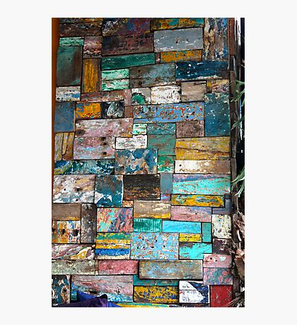 Colour Blocks Photographic Print