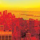 New York City Skyline (set 3 of 3) by Jeff Kaster