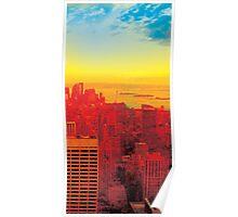 New York City Skyline (set 3 of 3) Poster