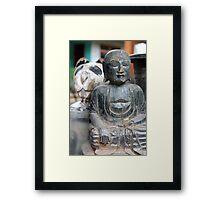 Buddha Bear Framed Print