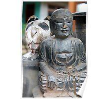 Buddha Bear Poster