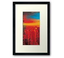 New York City Skyline (set 1 of 3) Framed Print