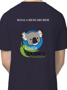 Koala Clancy Foundation - large logo researcher Classic T-Shirt