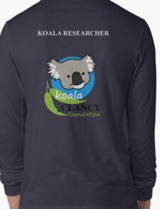 Koala Clancy Foundation - large logo researcher Long Sleeve T-Shirt