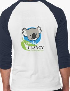 Koala Clancy Foundation - large logo researcher Men's Baseball ¾ T-Shirt